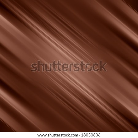 Chocolate background with some smooth lines in it