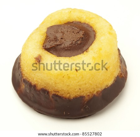 chocolate bakery isolated on a white background