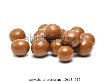 Chocolate Balls - stock photo