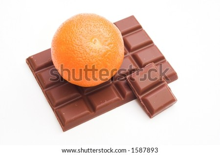Chocolate bar - stock photo