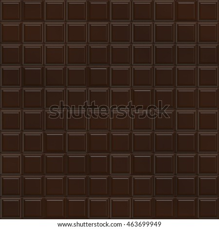 Chocolate Bar Seamless Texture