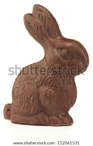Chocolate Bunny - stock photo