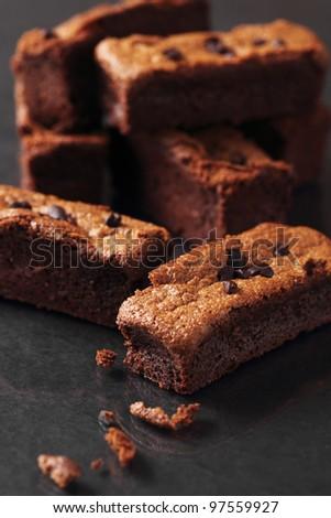 Chocolate cake. - stock photo