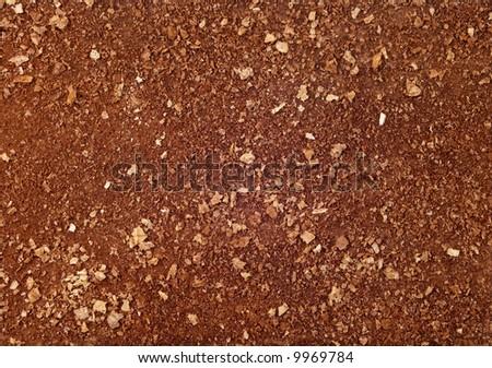 chocolate cake background - stock photo