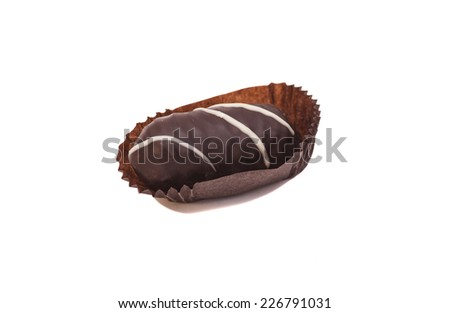 Chocolate candie - stock photo