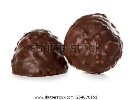Chocolate candies - stock photo