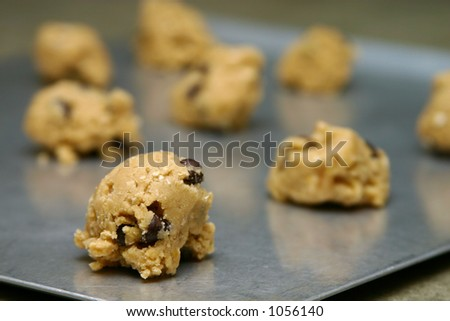 Chocolate Chip Cookies Ready To Bake