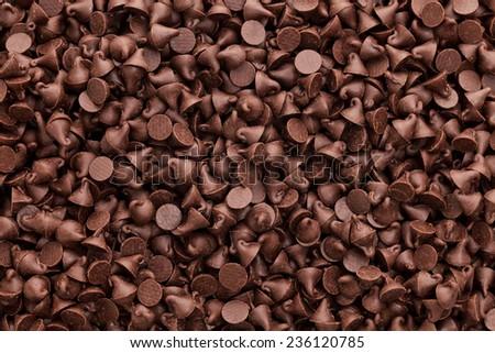 Background Image Chocolate Chocolate Chips Background