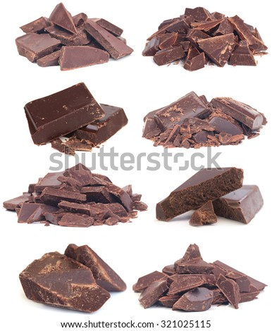 Chocolate collection - stock photo