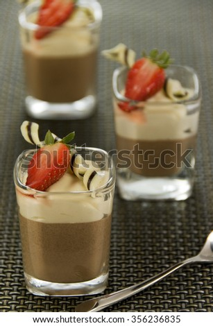 Chocolate Desert  - stock photo