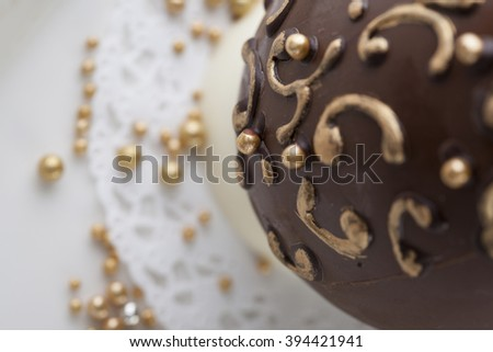 chocolate eastern egg cake