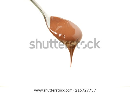 Chocolate isolated in white background - stock photo