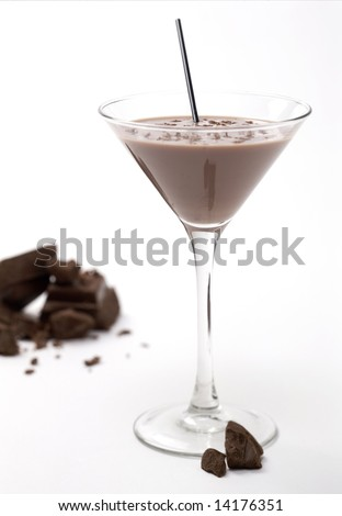Chocolate martini - stock photo