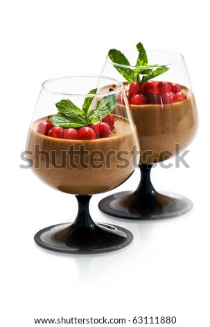 dessert mousse stock photos images pictures shutterstock