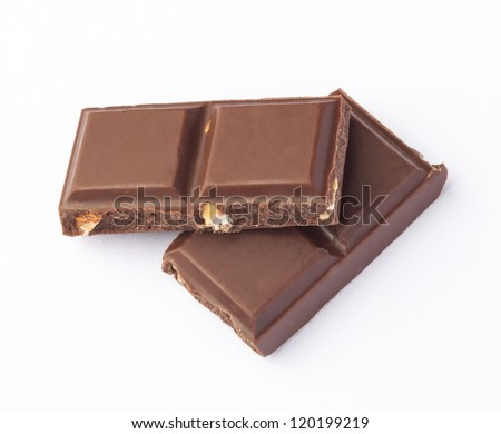 Chocolate pieces