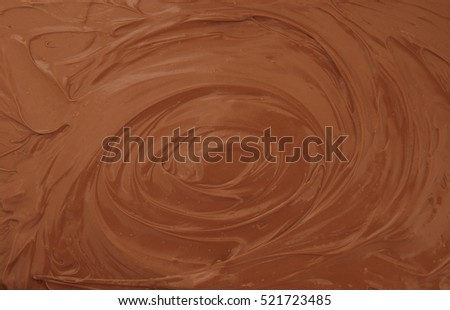 Chocolate spread.