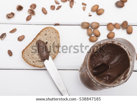 how to make chocolate spread for bread