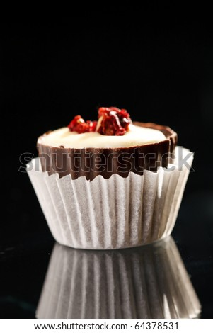 chocolate sweet - stock photo