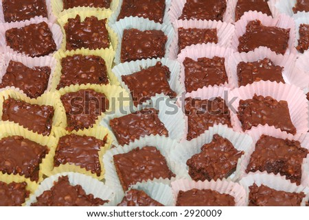 Chocolate treats - stock photo