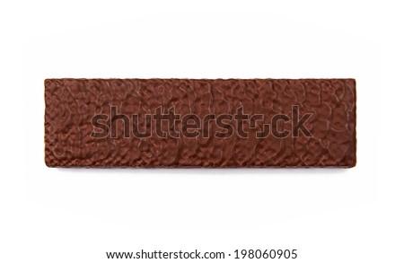 Chocolate wafer - stock photo