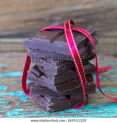 chocolates. - stock photo