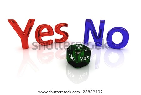 Choice within yes or no