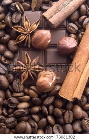 chokolate - stock photo
