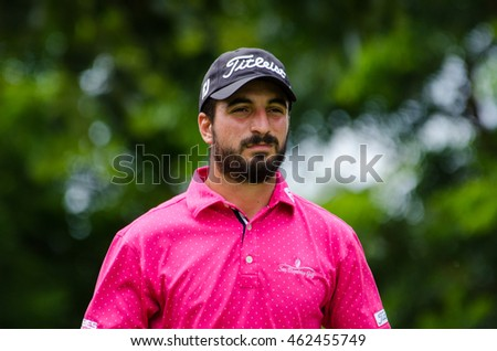 CHONBURI - JULY 31 : Francesco Laporta of Italy in King's Cup 2016 at Phoenix Gold Golf & Country Club Pattaya on July 31, 2016 in Chonburi, Thailand.