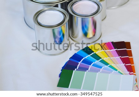 choose the color of paint