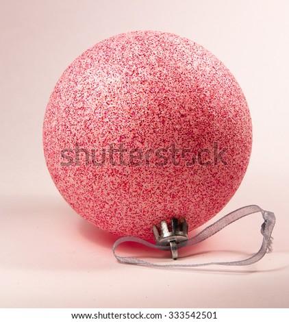 Choosing Christmas toys to decorate the Christmas tree - stock photo