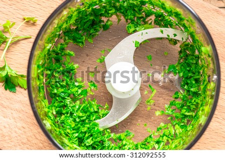 Food processor dough making for atta