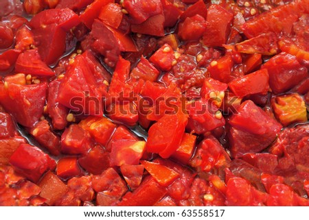 Chopped Tomatoes for Pasta