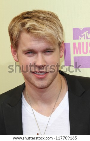 Chord Overstreet at the 2012 Video Music Awards Arrivals, Staples Center, Los Angeles, CA 09-06-12 - stock photo