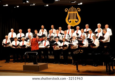 Chorus - stock photo