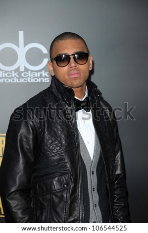 Chris Brown  at the 2008 American Musica Awards. Nokia Theatre, Los Angeles, CA. 11-23-08