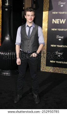 "Chris Golfer at the Los Angeles Premiere of ""New Year's Eve"" held at the Grauman's Chinese Theater in Los Angeles, California, United States on December 5, 2011.  - stock photo"