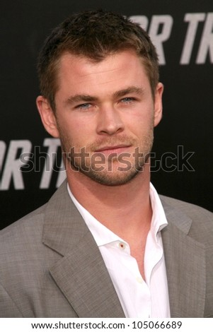 Chris Hemsworth at the Los Angeles Premiere of 'Star Trek'. Grauman's Chinese Theatre, Hollywood, CA. 04-30-09