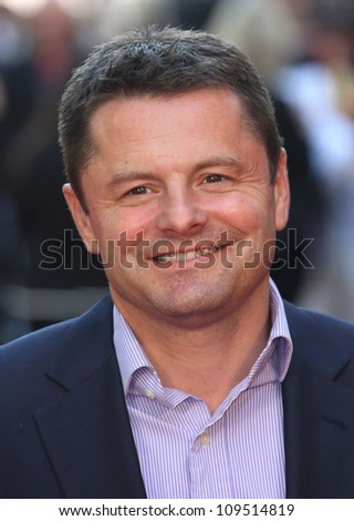 Chris Hollins arriving for the Chariots of Fire Premiere held at the Empire Leicester Square -  London, England. 10/07/2012 Picture by: Henry Harris / Featureflash