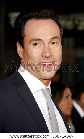 Chris Klein at the Los Angeles premiere of 'American Reunion' held at the Grauman's Chinese Theatre in Hollywood, USA on March 19, 2012.