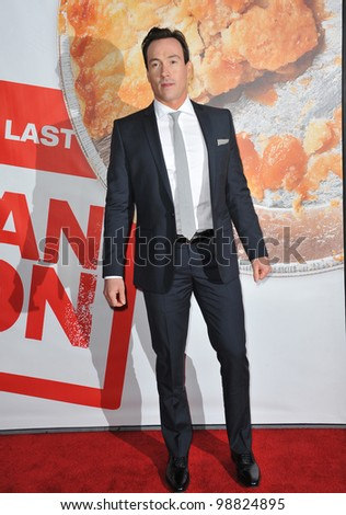 "Chris Klein at the US premiere of his new movie ""American Reunion"" at Grauman's Chinese Theatre, Hollywood. March 19, 2012  Los Angeles, CA Picture: Paul Smith / Featureflash - stock photo"
