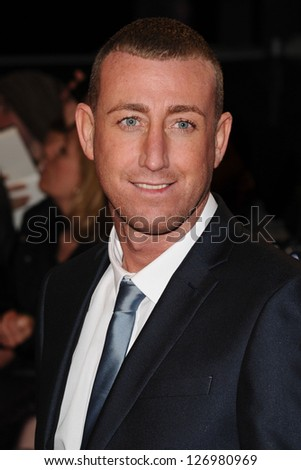 "Chris Maloney arriving for the ""The Twilight Saga: Breaking Dawn Part 2"" premiere at the Odeon Leicester Square, London. 14/11/2012 Picture by: Steve Vas"