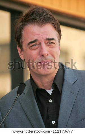 Chris Noth at the ceremony honoring Dick Wolf with the 2,332nd star on the Hollywood Walk of Fame. Hollywood Boulevard, Hollywood, CA. 03-29-07
