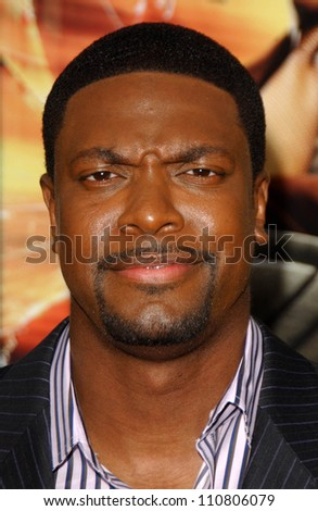 "Chris Tucker at the Los Angeles Premiere of ""Rush Hour 3"". Mann's Chinese Theater, Hollywood, CA. 07-30-07 - stock photo"