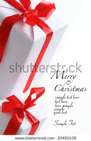 Chrismas box (easy to remove the text)