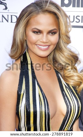 Chrissy Teigen at the 2015 Billboard Music Awards held at the MGM Garden Arena in Las Vegas, USA on May 17, 2015.