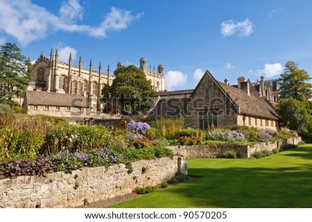 Christ Church. War Memorial Garden. Oxford, UK - stock photo
