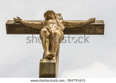 Christ in cross
