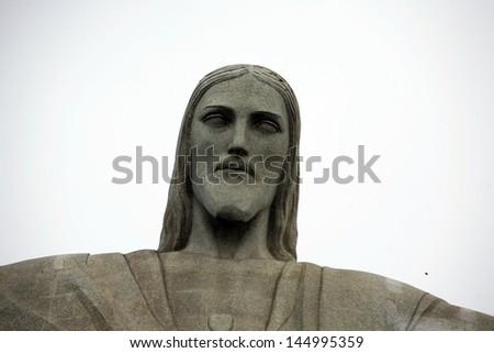 Christ the Redeemer Rio de Janeiro, Brazil - stock photo