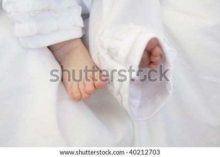 christening ceremony - stock photo