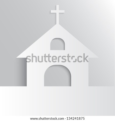 Christian Church - stock photo